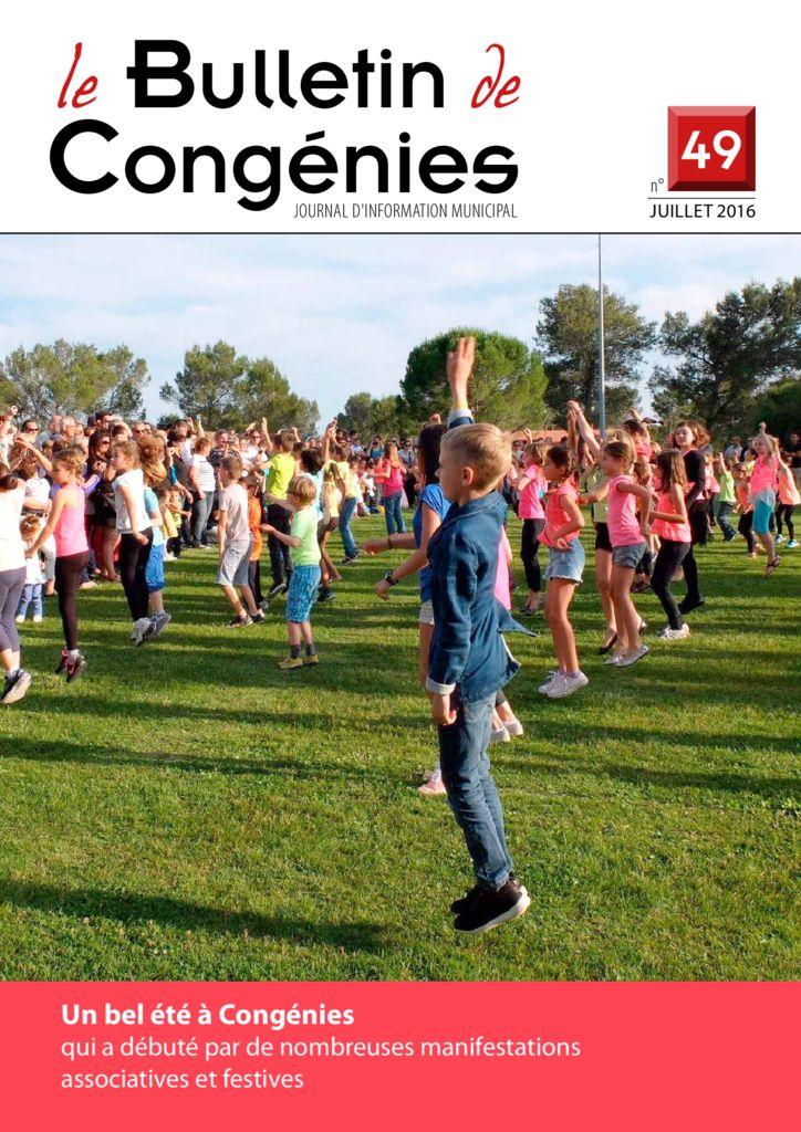 thumbnail of Bulletin Congénies 49