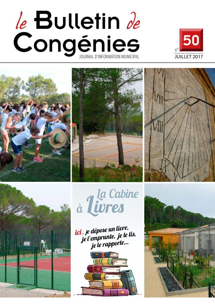 thumbnail of Bulletin-CongeniesNdeg50